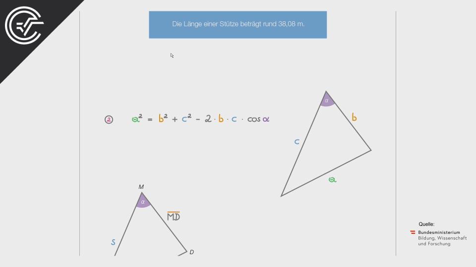 Brücken zwischen Gebäuden Bifie Aufgabenpool angewandte Mathematik BHS Teil-B Cluster Zentralmatura Mathematik