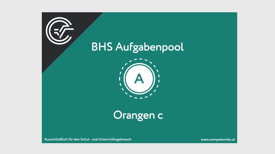 A_220 Orangen Zentralmatura Mathematik BMB Aufgabenpool BHS Teil A Bifie  Bundesministerium für Bildung