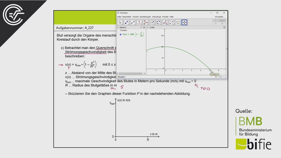 Zentralmatura Mathematik BHS Teil A Bifie BMB Aufgabenpool Bundesministerium für Bildung