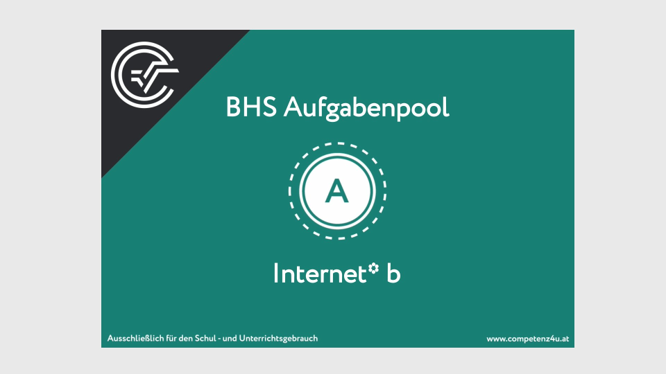 A_190 Internet Zentralmatura Mathematik BMB Aufgabenpool BHS Teil A Bifie  Bundesministerium für Bildung