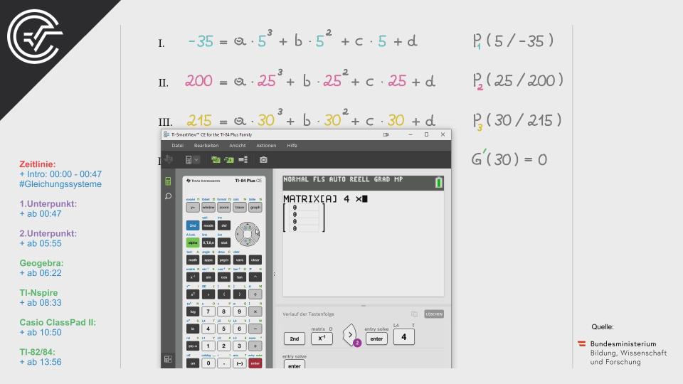 Käseproduktion Bifie Aufgabenpool angewandte Mathematik BHS Teil-B Cluster Zentralmatura Mathematik