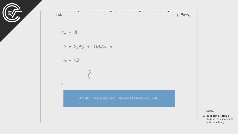 Lauftraining b Bifie Aufgabenpool angewandte Mathematik BHS Teil-B Cluster Zentralmatura Mathematik