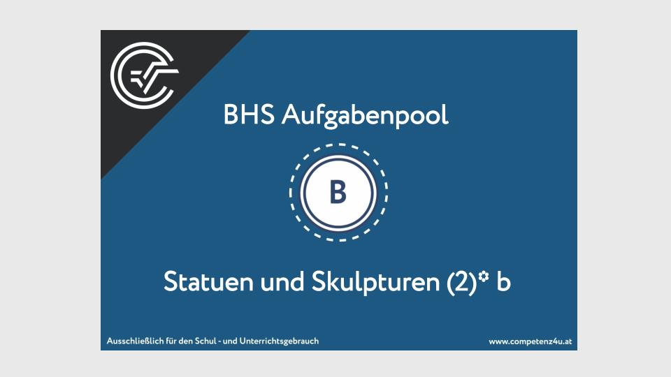 Bifie Aufgabenpool angewandte Mathematik BHS Teil-B Cluster BMB Zentralmatura Mathematik