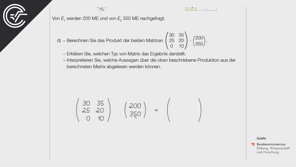 B_162 Rohstoffbedarf d Bifie Aufgabenpool angewandte Mathematik BHS Teil-B Cluster Zentralmatura Mathematik