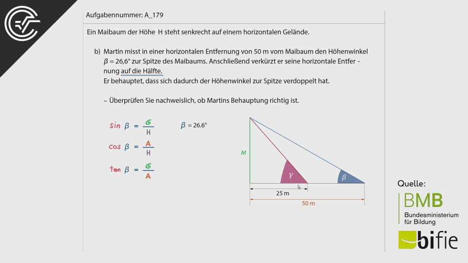 Zentralmatura Mathematik BMB Aufgabenpool BHS Teil A Bifie  Bundesministerium für Bildung