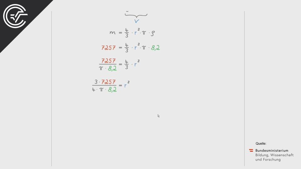 Kugelstoßen Zentralmatura Mathematik BMB Aufgabenpool BHS BRP Teil A Bifie