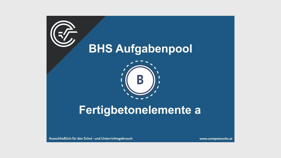 BHS Teil B Bifie Aufgabenpool Zentralmatura Mathematik Bundesministerium für Bildung