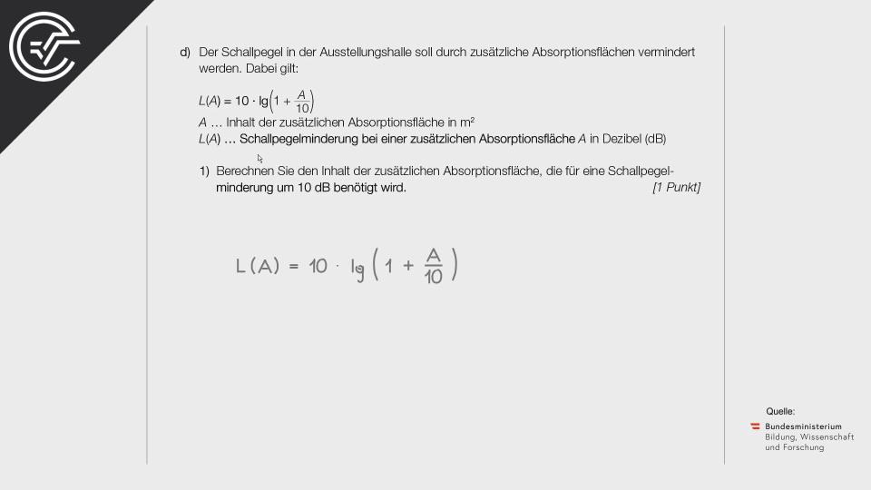 B_116 Ausstellungshalle Bifie Aufgabenpool angewandte Mathematik BHS Teil-B Cluster Zentralmatura Mathematik