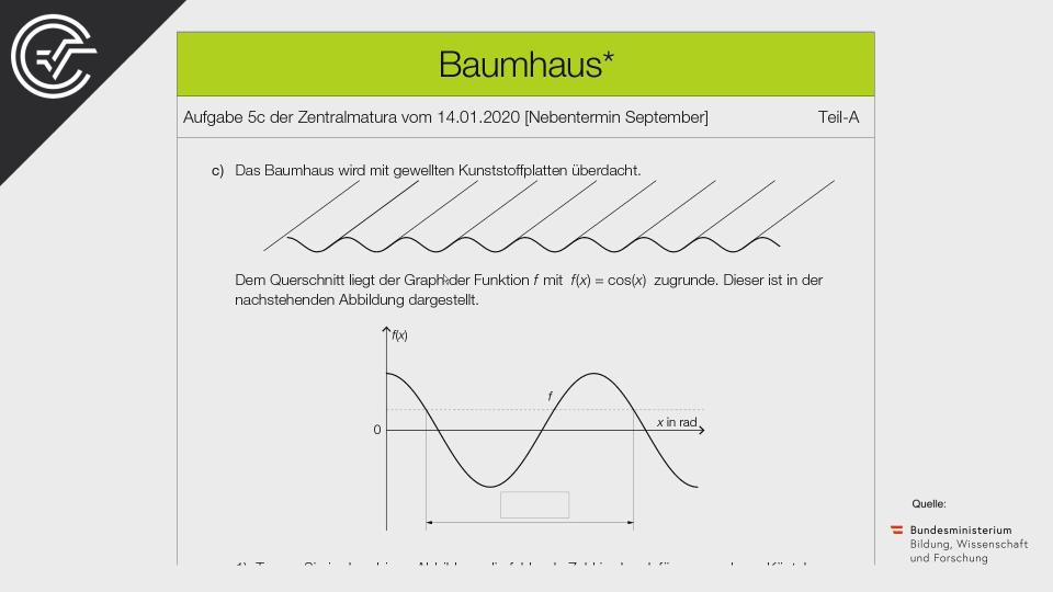 Baumhaus Zentralmatura Mathematik BMB Aufgabenpool BHS BRP Teil A Bifie