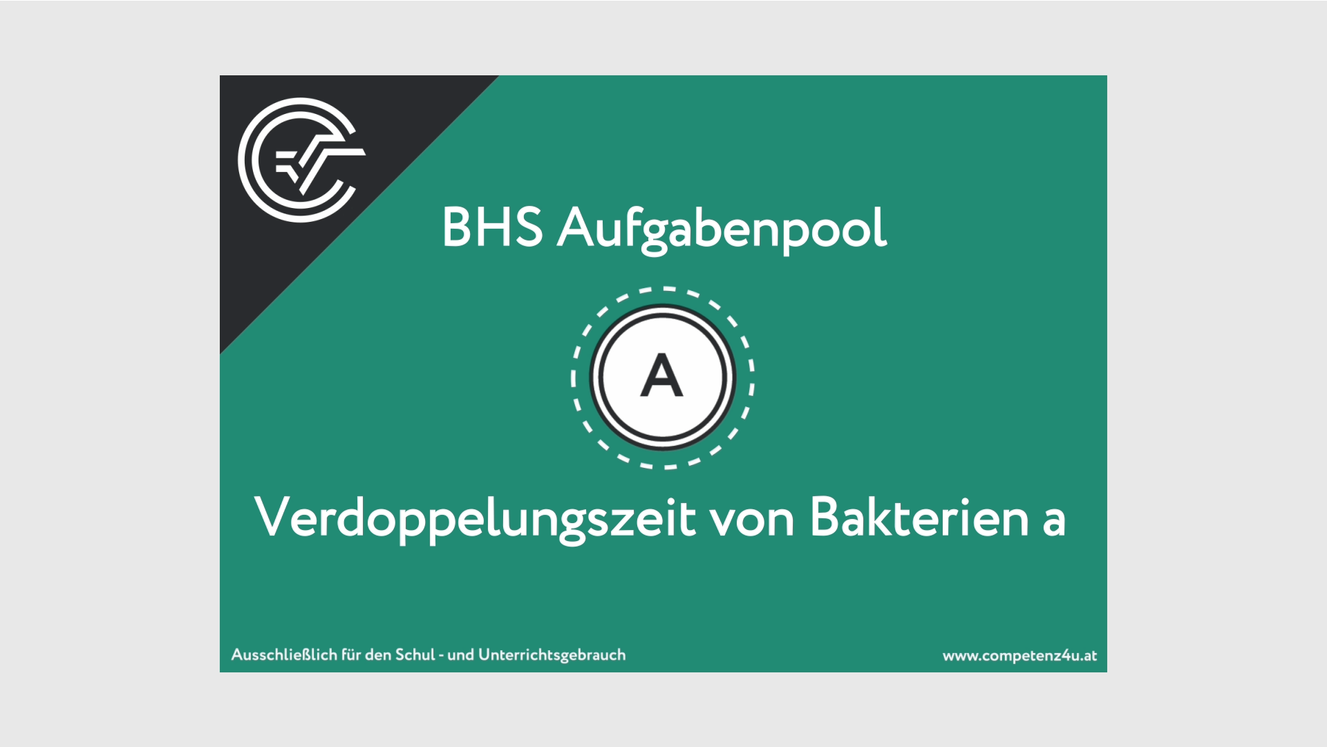BHS Teil A Bifie Aufgabenpool Bundesministerium für Bildung