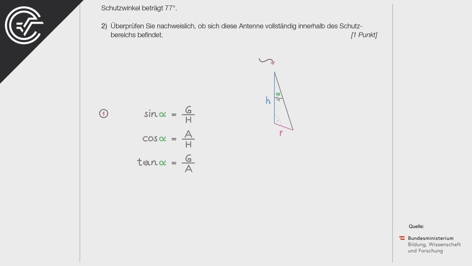 Gewitter Zentralmatura Mathematik BMB Aufgabenpool BHS BRP Teil A Bifie