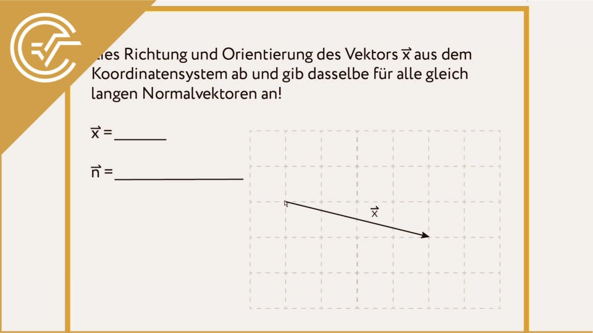 AG 3.5 - Normalvektor 2