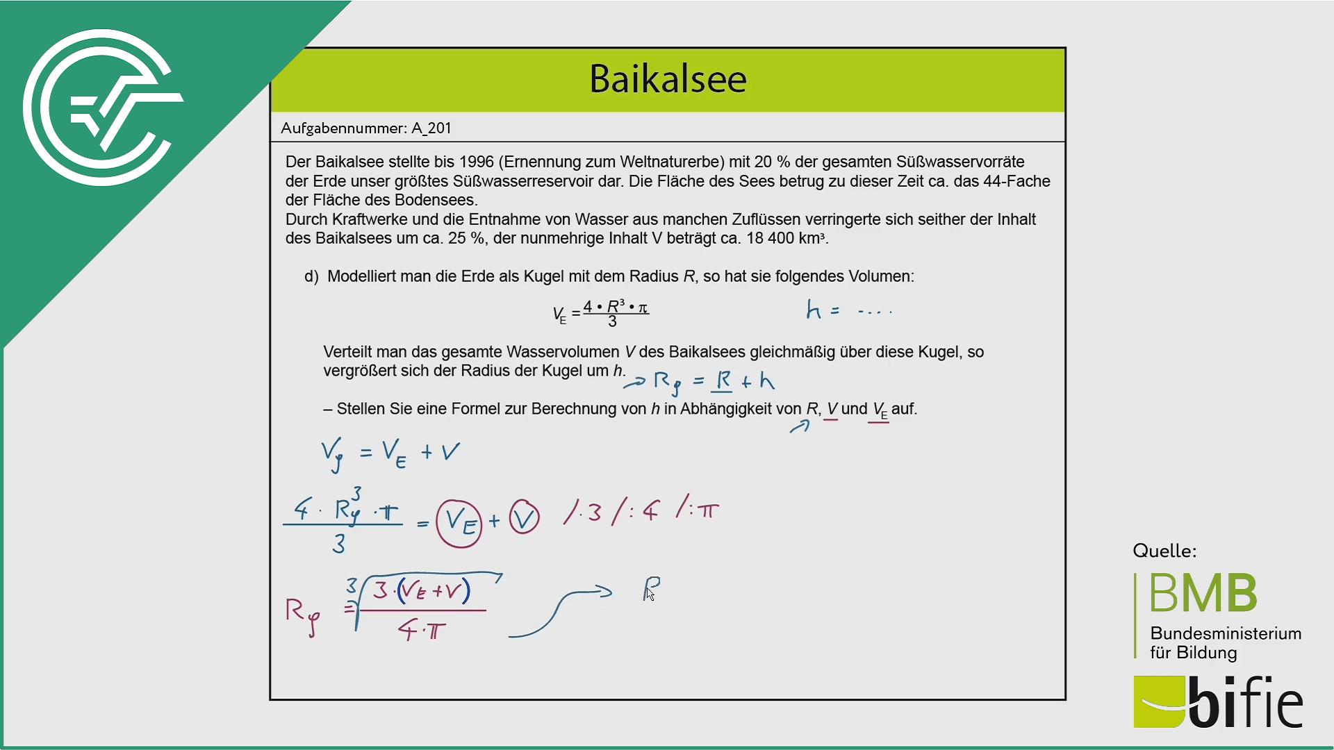 A_201 Baikalsee d [Gleichung umformen]