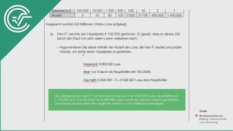 A_023 Brieflos b [Wahrscheinlichkeiten - Statistik]