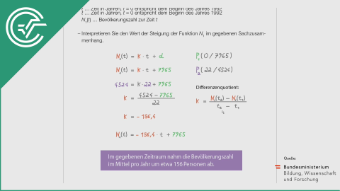 A_218 Bevölkerungsentwicklung a [Lineare Funktionen]