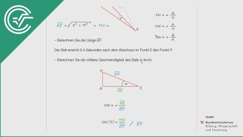 A_219 Fußball c [Physik - Trigonometrie]