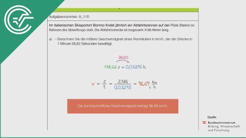 A_110 Skipiste a [Physik - Weg-Zeit]