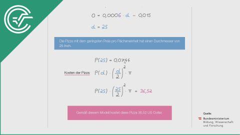 A_238 Riesenpizza c [Differentialrechnung]