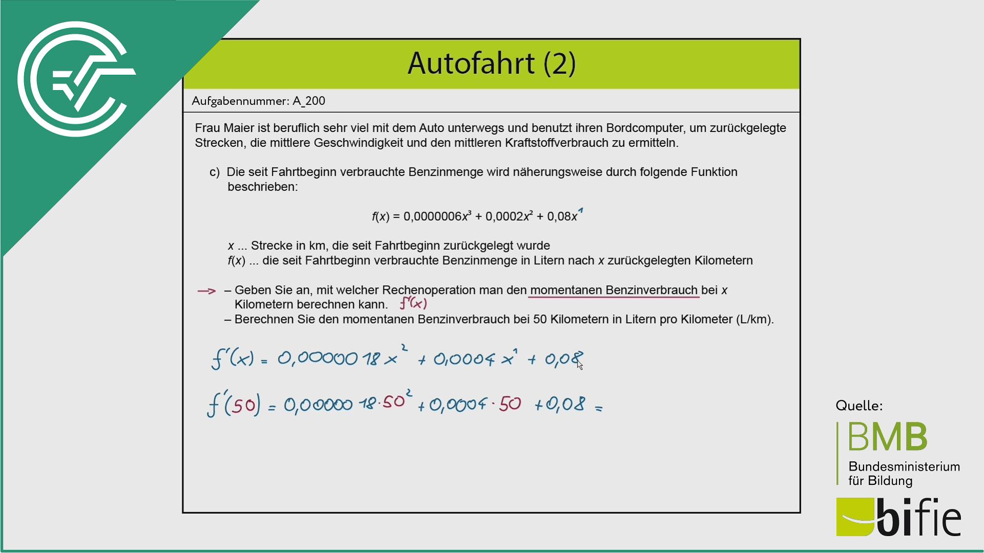 A_200 Autofahrt (2) c [Differentialquotient]