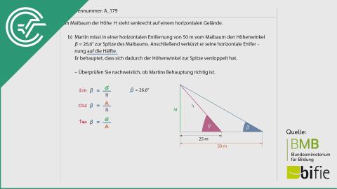 A_179 Maibaum aufstellen b [Trigonometrie]