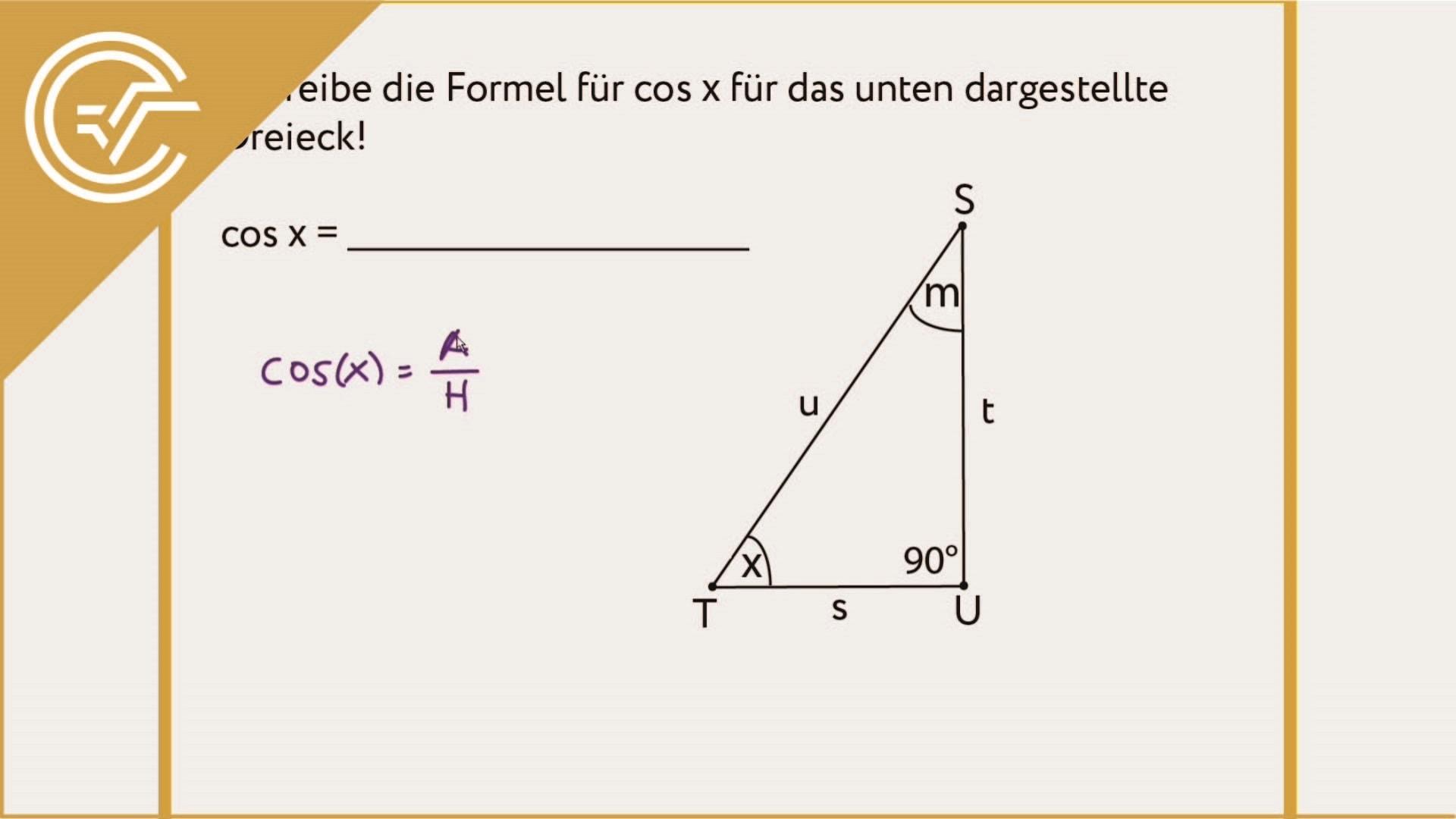 AG 4.1 - Rechtwinkeliges Dreieck 2