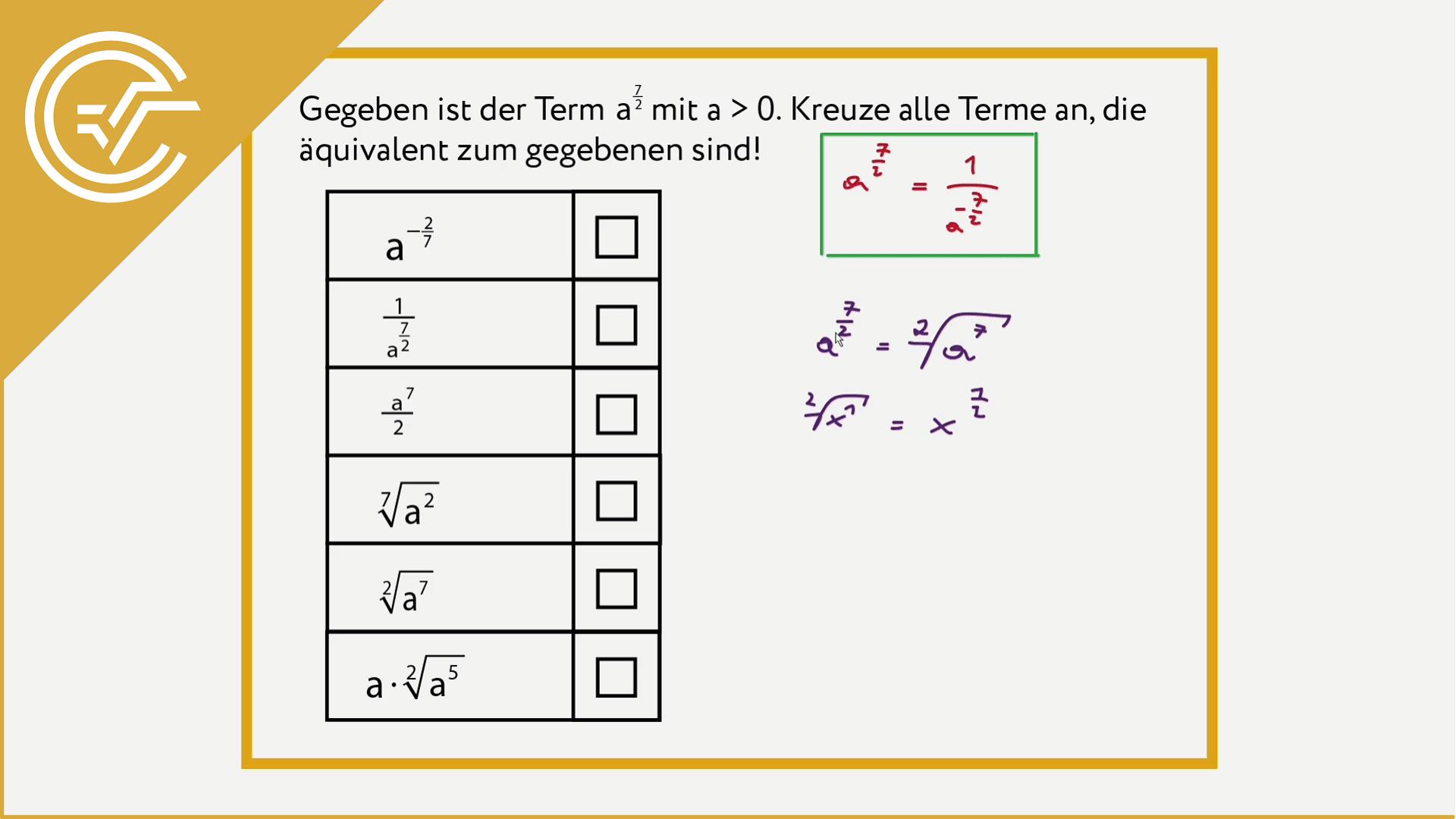 AG 1.2 - Äquivalenz 2