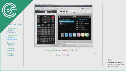 A_256 Verzinsung a [Exponentialfunktionen]