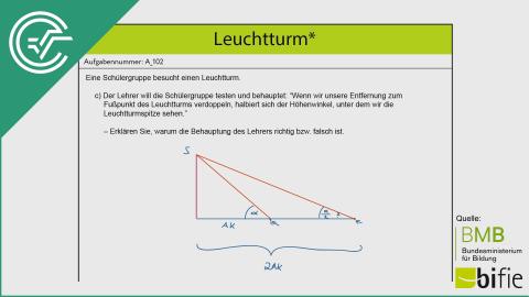 A_102 Leuchtturm c [Trigonometrie]
