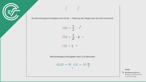 A_088 Bungeejumping b [Differentialrechnung - Physik]