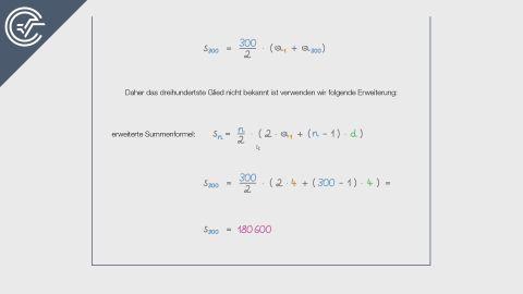 Summe einer arithmetischen Reihe