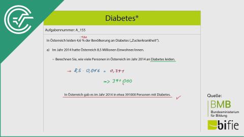 A_155 Diabetes a [Prozent]