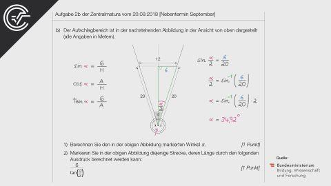 A_268 Kugelstoßen b [Trigonometrie]