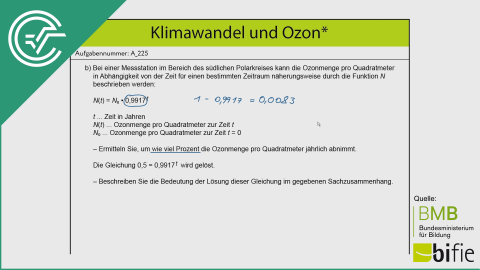 A_225 Klimawandel und Ozon b [Halbwertszeit]