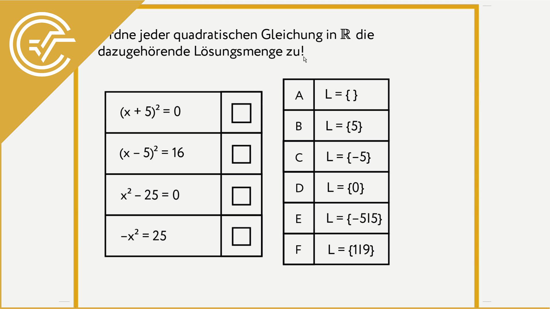 AG 2.3 - Nullstellen 1