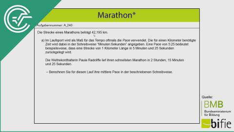 A_240 Marathon a [Weg-Zeit Beispiel]