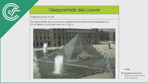 A_040 Glaspyramide des Louvre a [Trigonometrie]