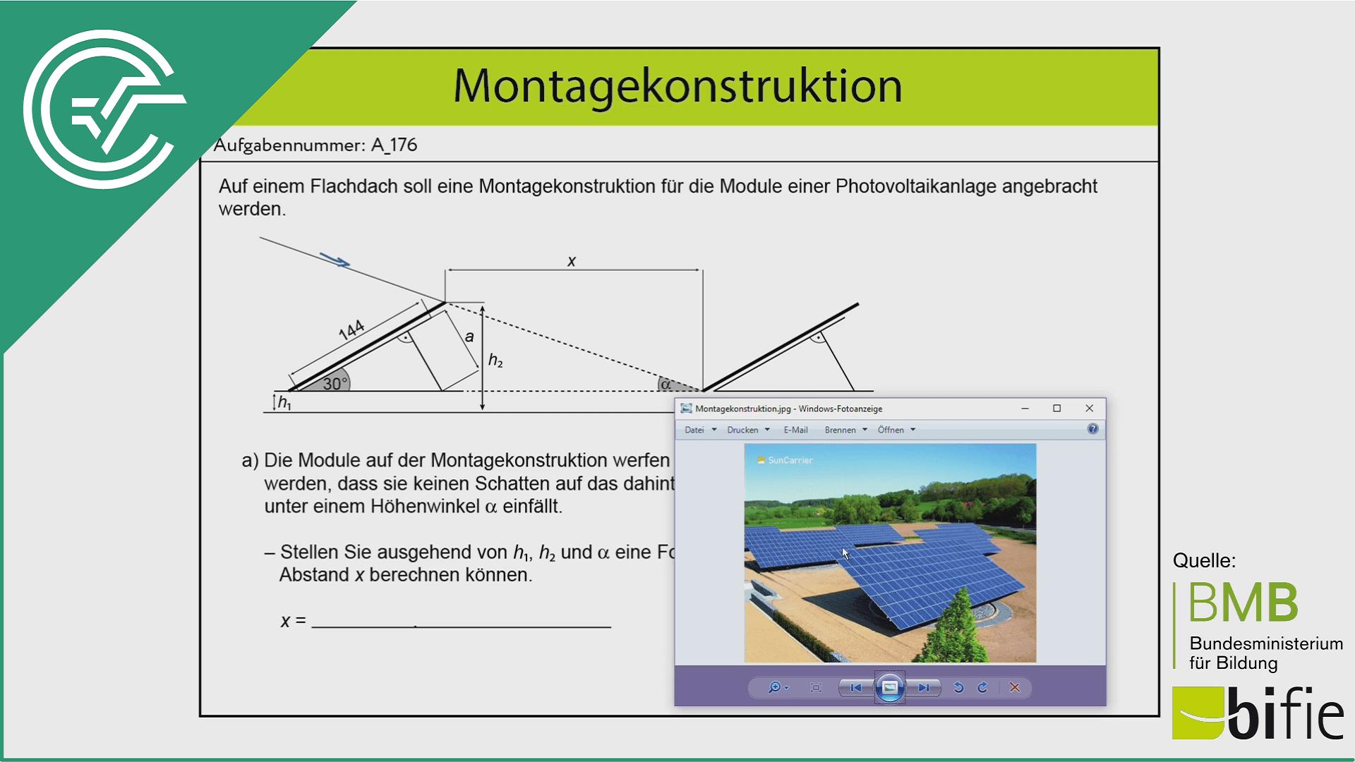 A_176 Montagekonstruktion a [Trigonometrie]