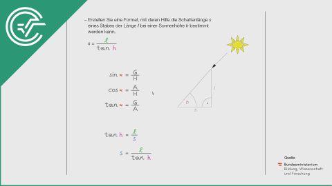 A_062 Die Sonne b [Trigonometrie]