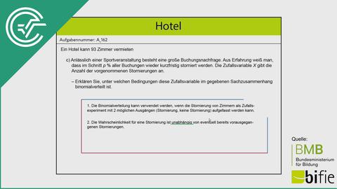 A_162 Hotel c [Binomialverteilung]