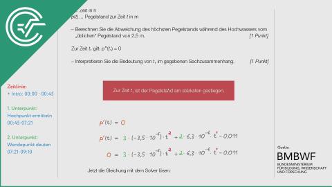 A_266 Flussläufe und Pegelstände a [Differentialrechnung]
