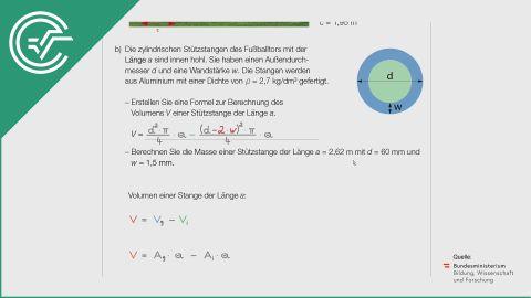A_183 Fußballtor b [Geometrie - Volumen]