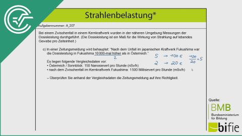 A_207 Strahlenbelastung c [Verhältnisse]