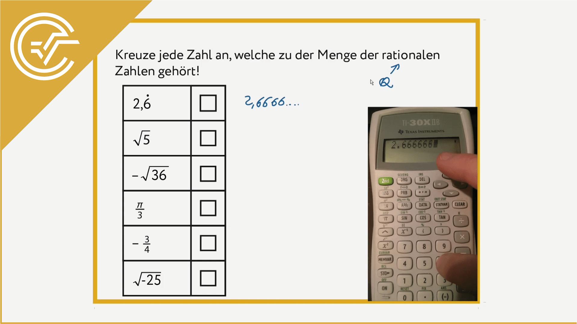 AG 1.1 - Zahlenmengen verstehen 2