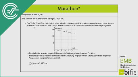 A_240 Marathon c [Steigung + Integrale]