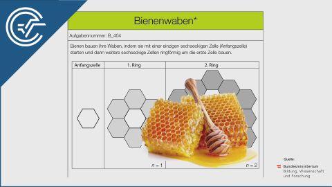 B_404 Bienenwaben a [Folgen und Reihen]