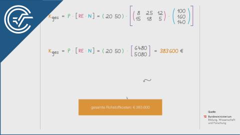 B_163 Zweistufige Produktion b [Matrix transponieren]