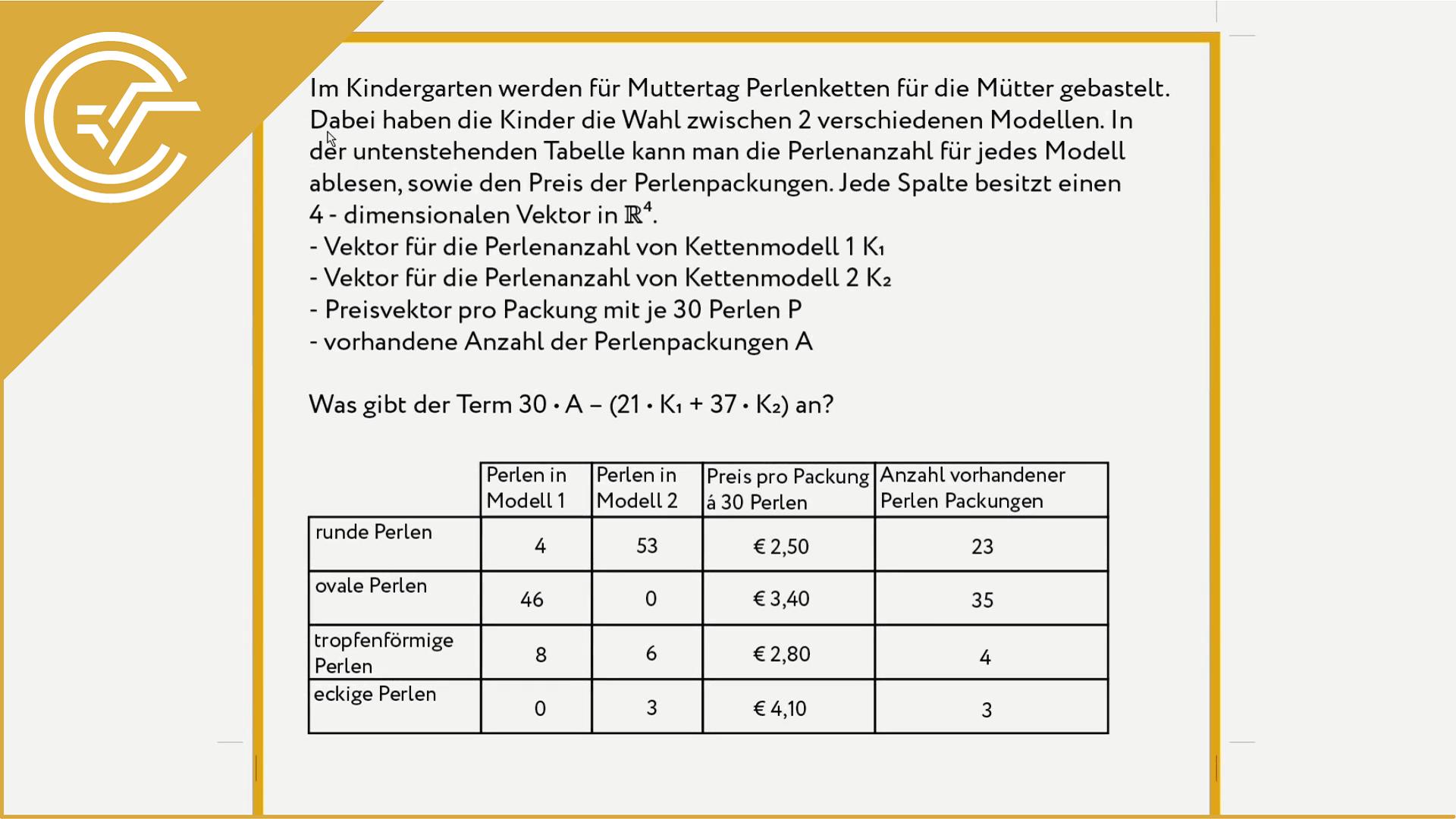 AG 3.1 - Vektoren verwenden 2