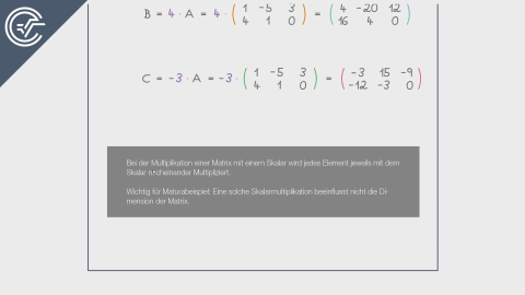 Matrizen multiplizieren 2