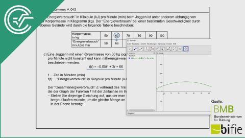 A_045 Energieverbrauch und Joggen c [Integralrechnung]