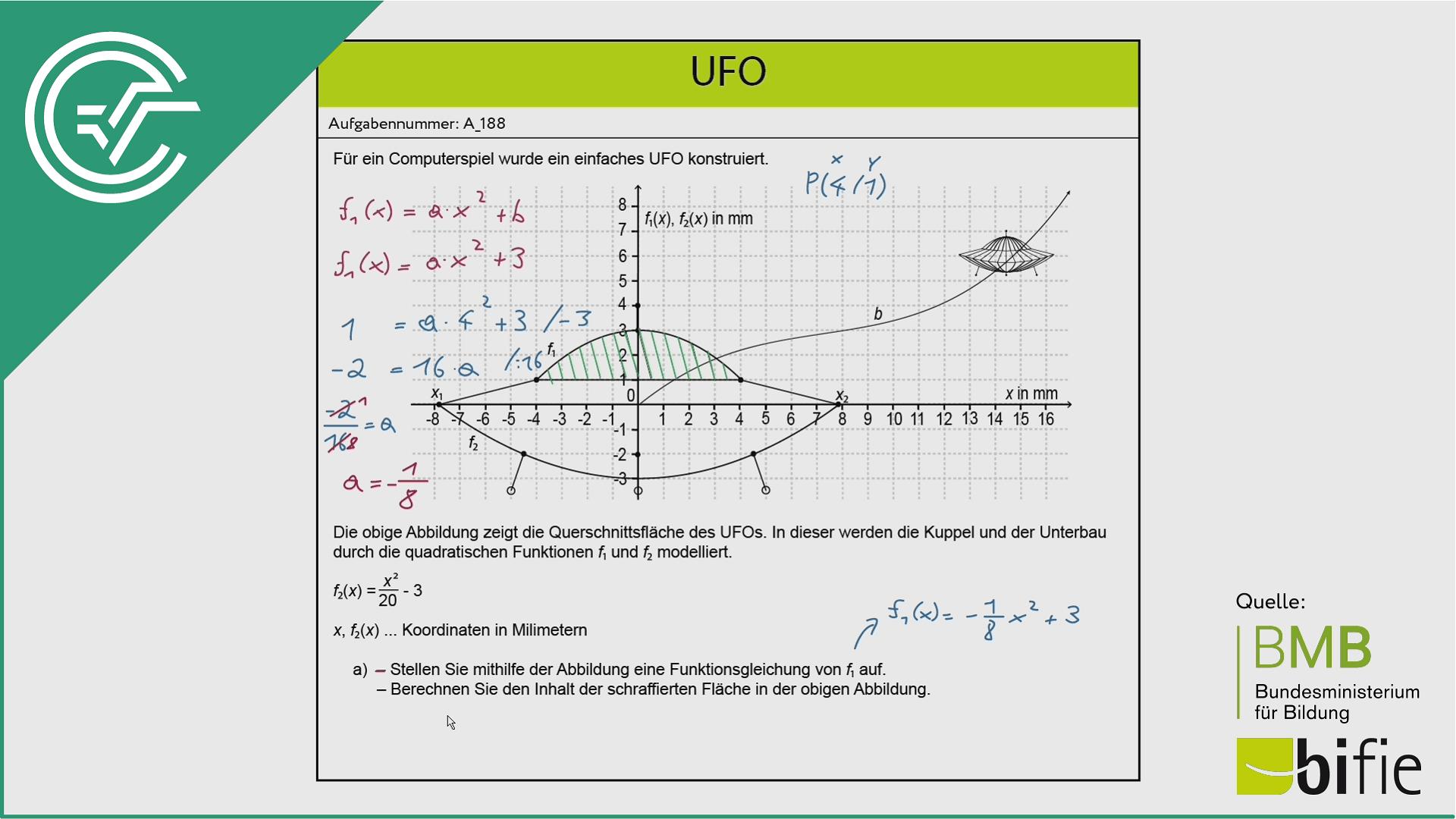 A_188 UFO a [bestimmtes Integral]